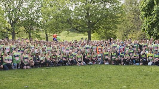 London Marathon Team Photo 2019