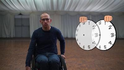 wheelchair skills training animation