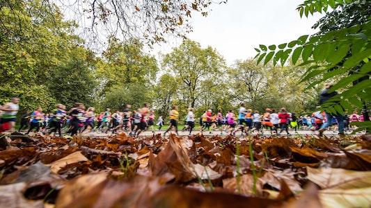 Royal Parks Half Marathon course wide shot (RB Create image)
