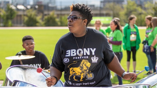 Steel Band at Challenge 75 2019