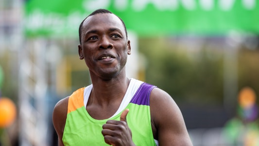 Runner at Challenge 75 2019