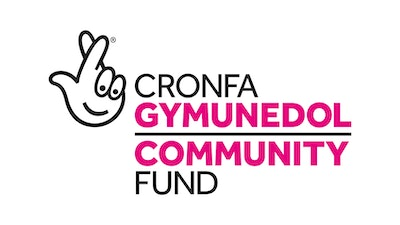 Logo of the National Lottery Community Fund Wales