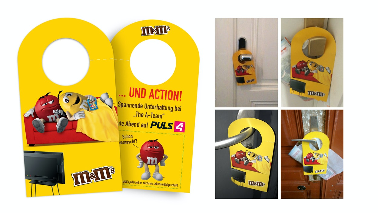 M&Ms, PULS 4, MediaCom versüßen den Hauptabend