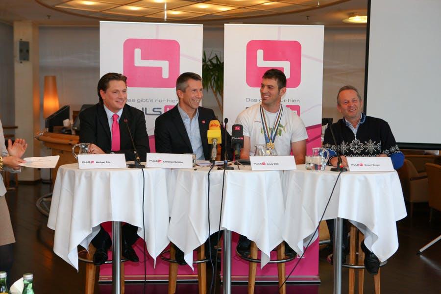 Michael Stix, Christian Nehiba, Andy Matt, Robert Seeger
