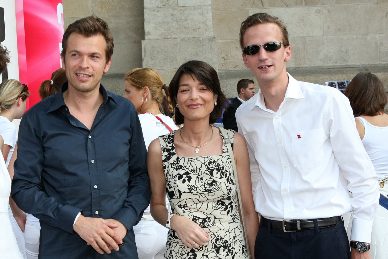 Markus Breitenecker, Ilona Happel, Alfonso Thurn und Taxis
