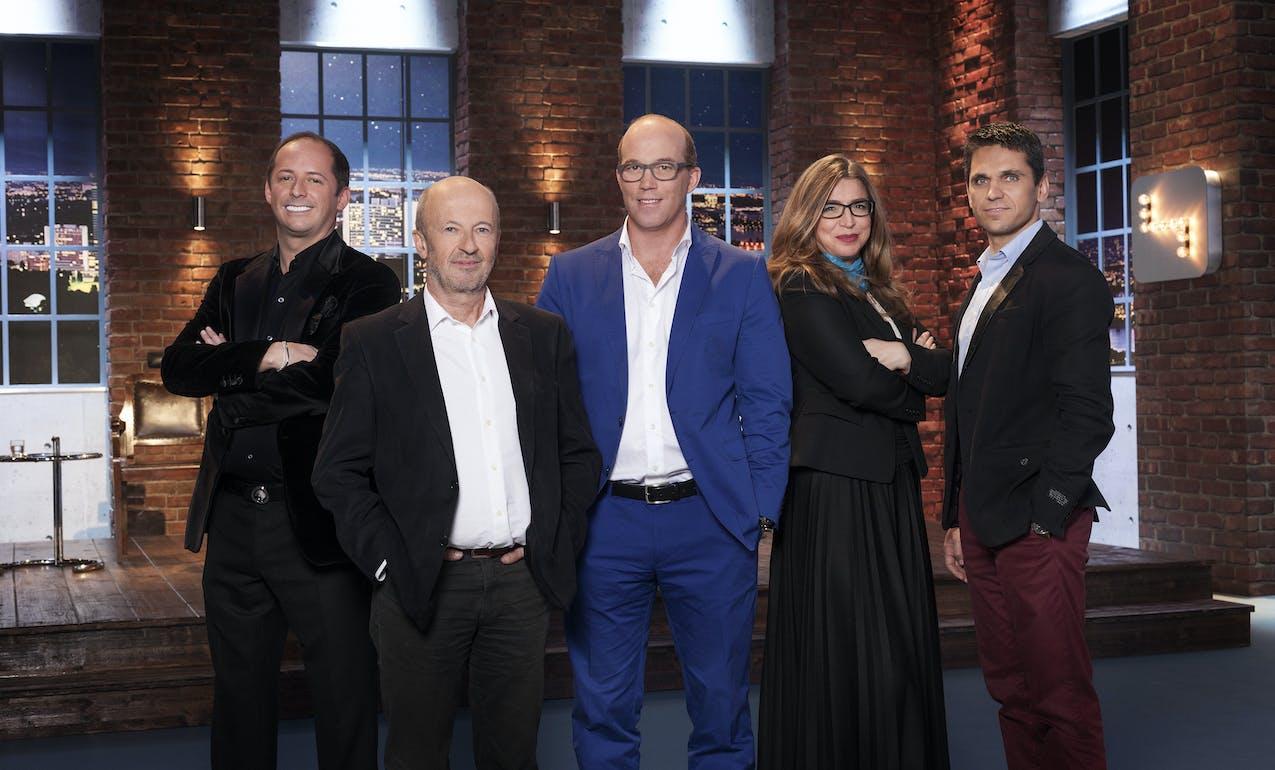 v.l.n.r.: Daniel Mattes, Hansi Hansmann, Oliver Holle, Selma Prodanovic, Michael Altrichter (c) Gerry Frank