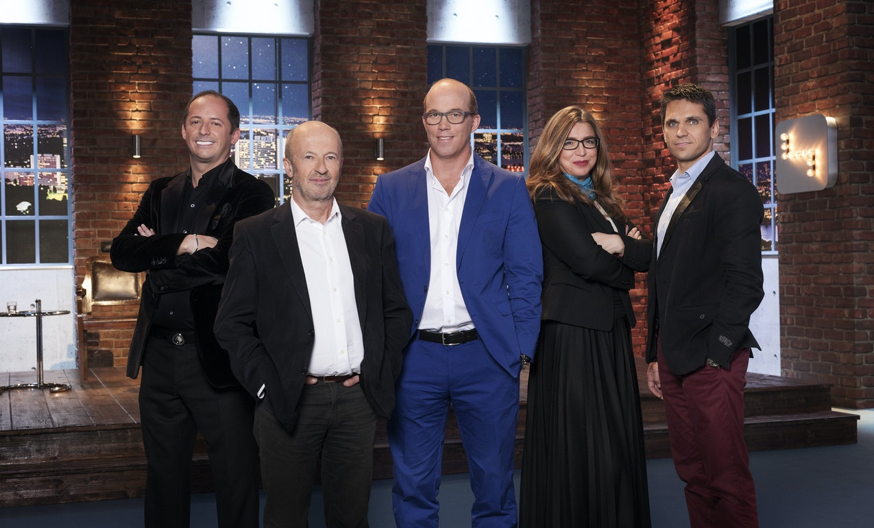 v.l.n.r.: Daniel Mattes, Hansi Hansmann, Oliver Holle, Selma Prodanovic und Michael Altrichter  (c) Gerry Frank