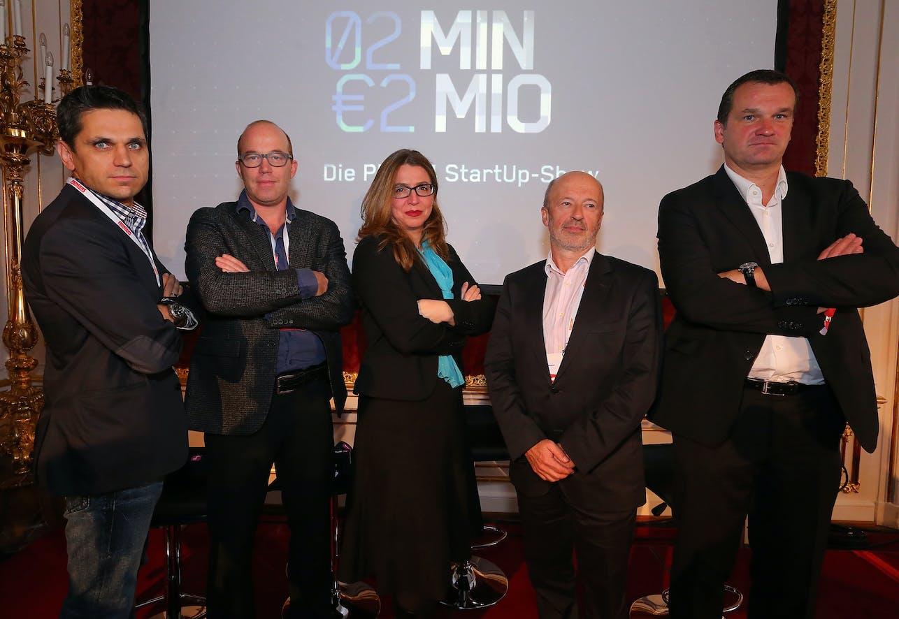 Michael Altrichter, Oliver Holle, Selma Prodanovic, Hansi Hansmann, Thomas Friess (v.l.)  (c) Conny de Beauclair