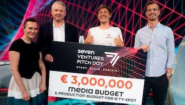 Start-up SIRPLUS gewinnt SevenVentures Pitch Day 2021