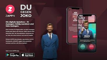 """""""Wer stiehlt mir die Show?"""" mit neuem """"Interactive Feature"""" in der ZAPPN TV-App"""