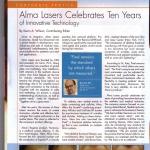 JUVA Skin & Laser Center Blog | the aesthetic alma lasers ten years