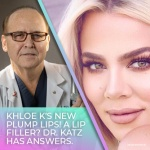 JUVA Skin & Laser Center Blog | KUWK: Khloe Kardashian's Huge Lips Spark Controversy – Dr. Katz Explain Her Possible Procedures