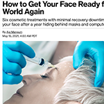 JUVA Skin & Laser Center Blog | Bloomberg talks with Dr. Katz About Getting Your Face Ready for the Real World Again