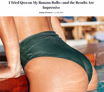 JUVA Skin & Laser Center Blog | Bruce Katz is featured in a RealSelf News article entitled I Tried QWO on My Banana Rolls—and the Results Are Impressive.