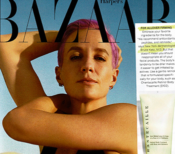 JUVA Skin & Laser Center Blog | Bruce Katz is featured in an article in Harper's Bazaar about Body Contouring.