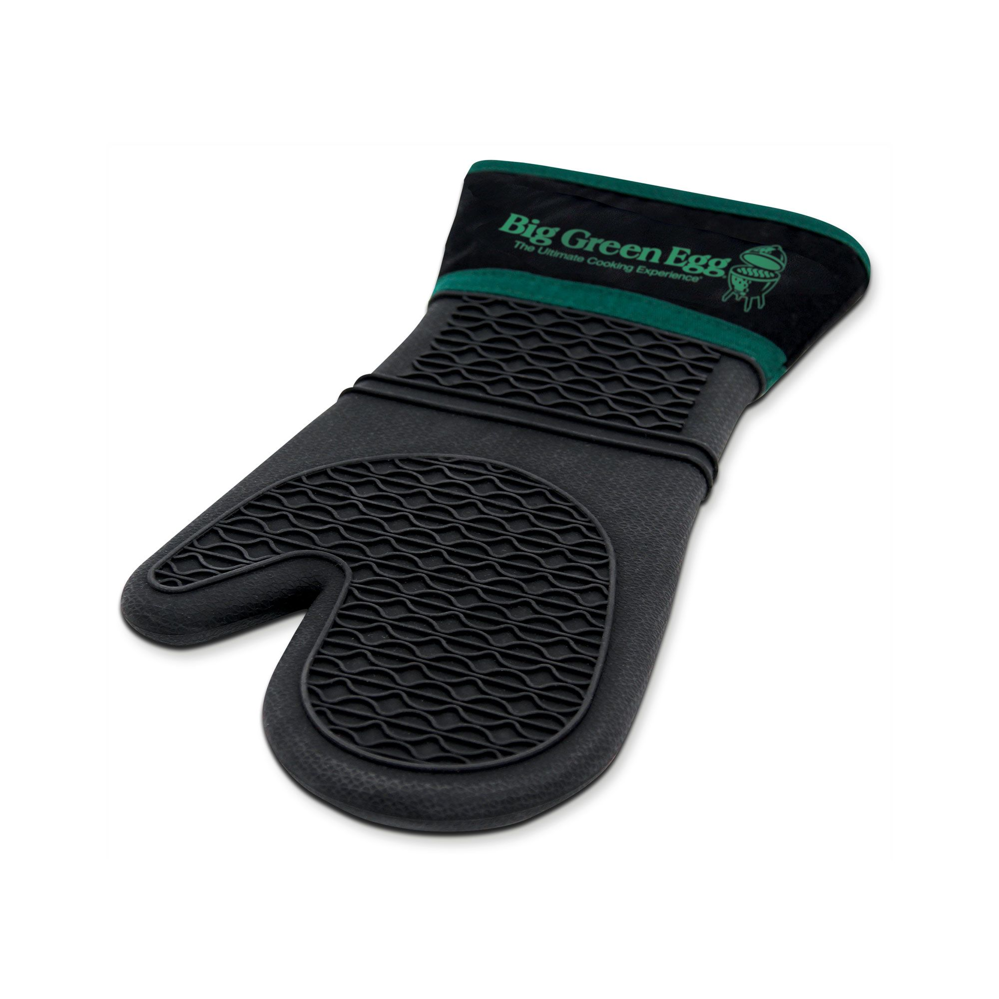 If your Big Green Egg surfaces are too hot to handle, you need a Heat Resistant Mitt with Fabric Cuff. They're comfy, safe, and extremely heatproof.
