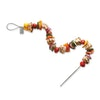 Make the perfect barbecue shish kebabs with these Fire Wire Flexible Skewers. They fill the EGG's dome so you can make the most of that 3D space.