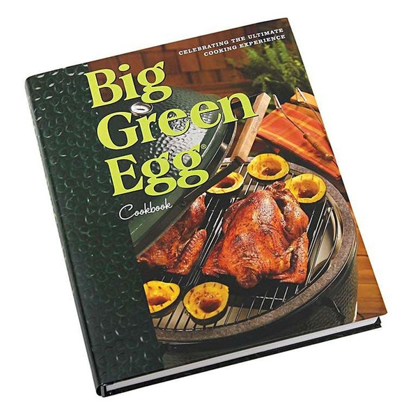 The beautiful 320-page, hardcover Big Green Egg Cookbook contains extensive colour photography and more than 160 delicious recipes for your Big Green Egg.