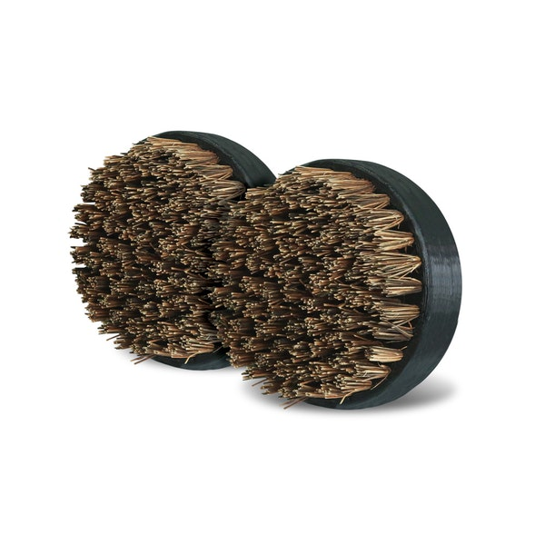 All Natural Palmyra Bristle Replacement Scrubber Pads