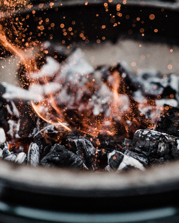 Get cooking as soon as tomorrow with the Big Green Egg Express Charcoal Kit