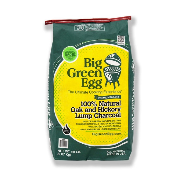 Big Green Egg Oak & Hickory Charcoal