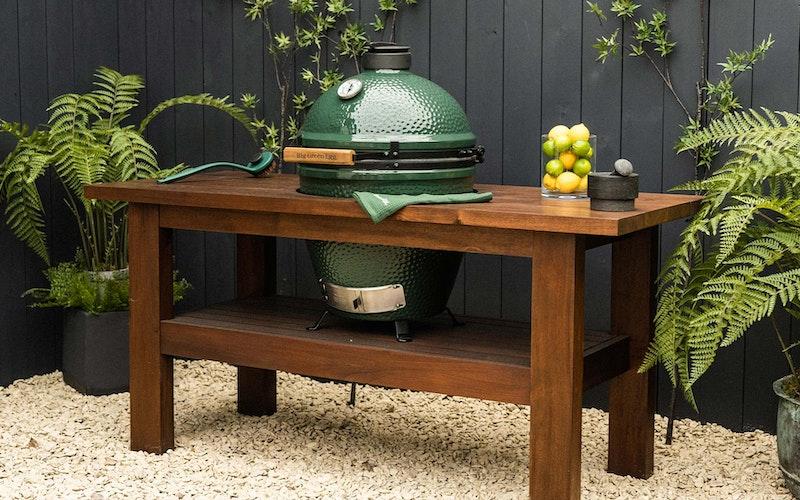 large egg premium mahogany table