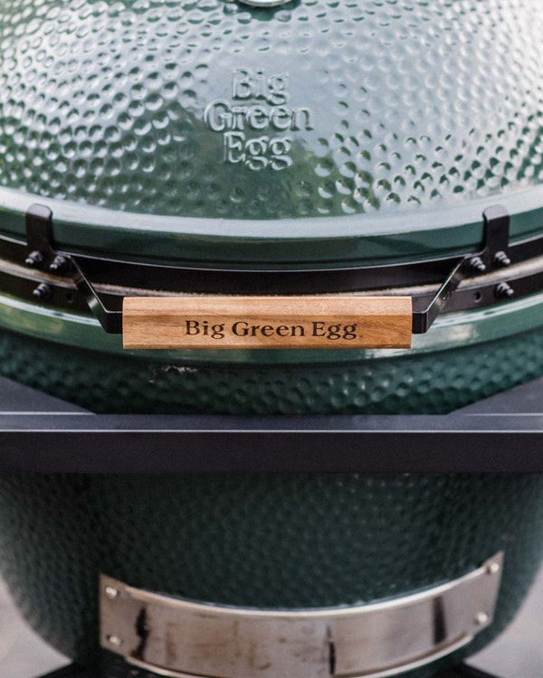 XL Big Green Egg acacia handle