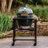 Large Big Green Egg in a Modular Nest