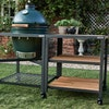 Large Big Green Egg in Modular Nest Expansion Frame