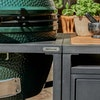 XL Big Green Egg in a Modular Nest and Acacia Expansion Cabinet