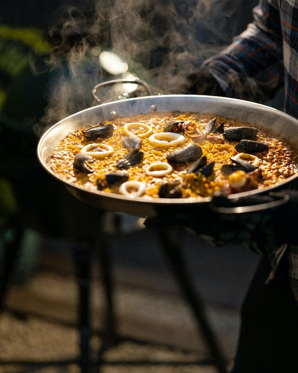 Pan& Plancha Cooking Paella