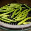 Large Big Green Egg Cast Iron searing grid grilling vegetables