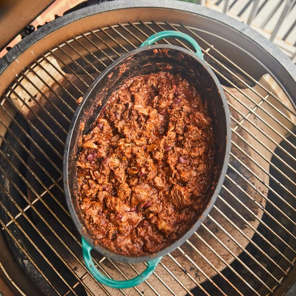 Cast Iron Enamelled Dutch Oven, dish washer safe