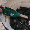 EGGniter lighting Big Green Egg Oak & Hickory Lumpwood charcoal