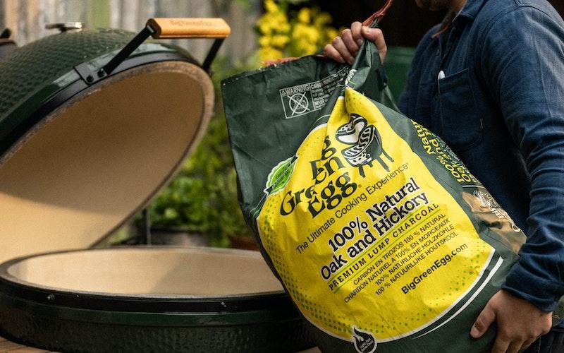 Oak & Hickory 100% Lumpwood Charcoal