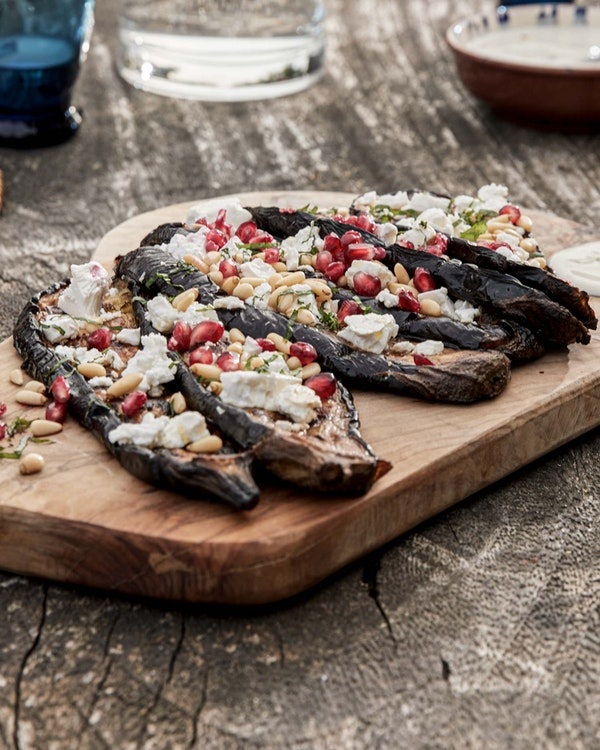 Smoked Aubergine and Feta