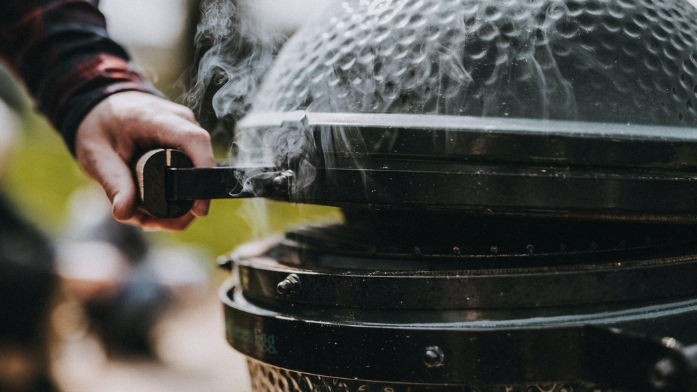 how to burp your big green egg