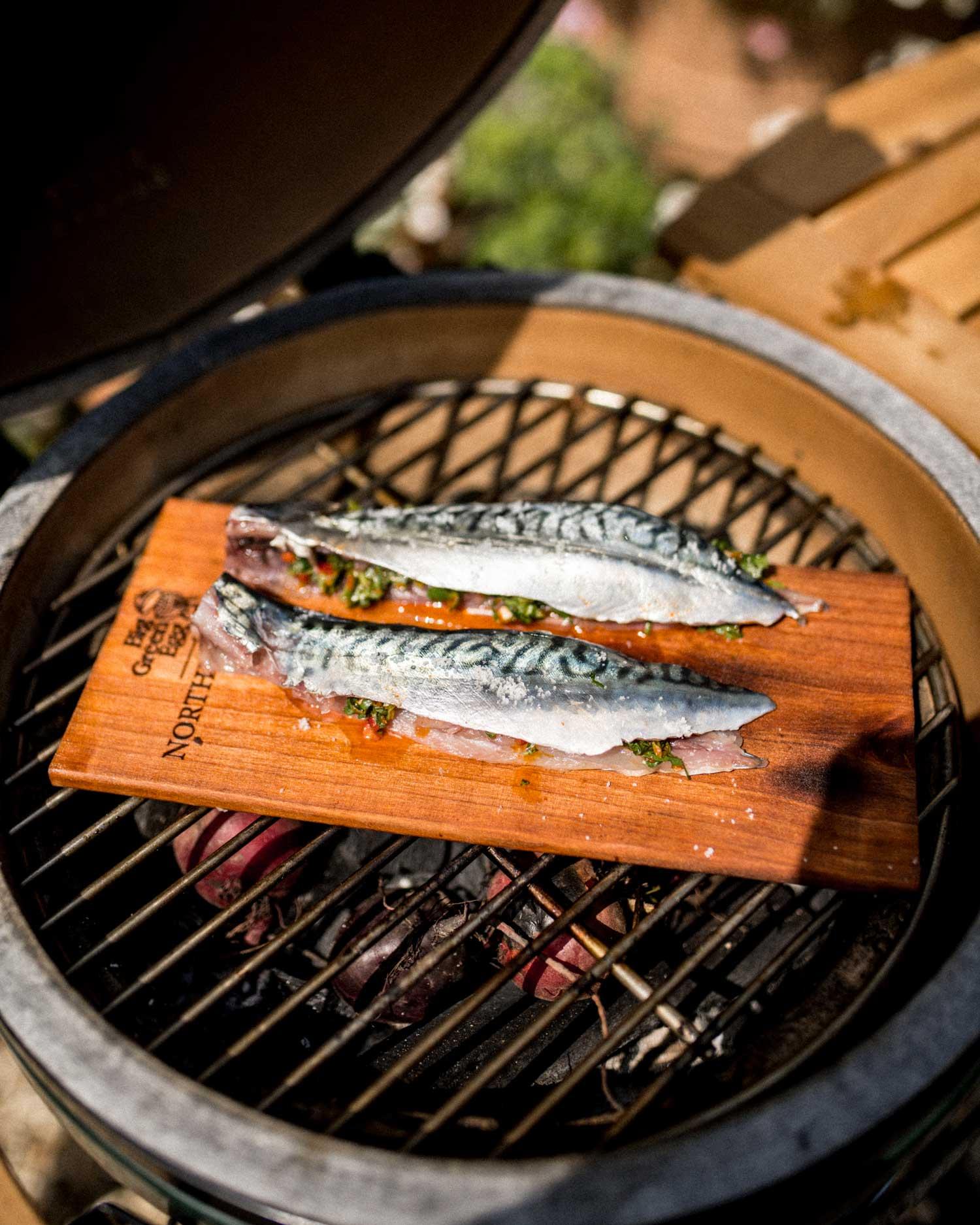 smoke the fish