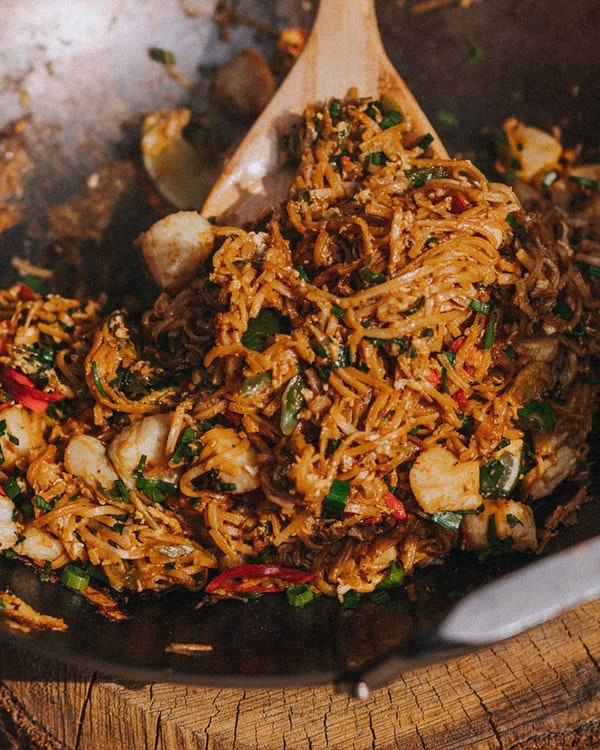 An easy and delicious pad thai, brimming with complexity and depth.