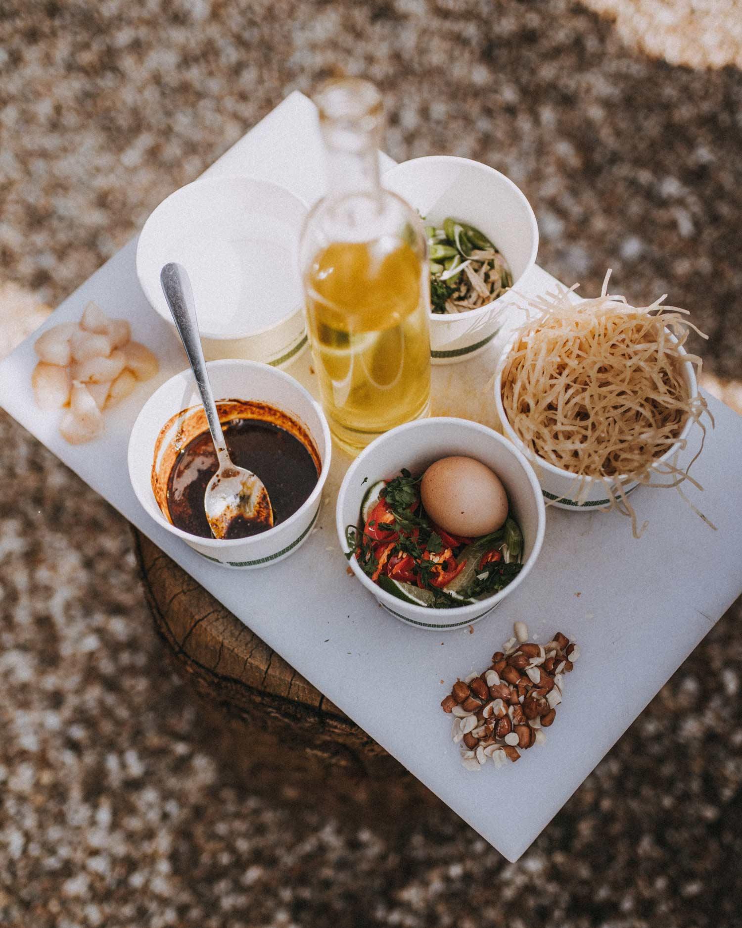 pad thai engredients