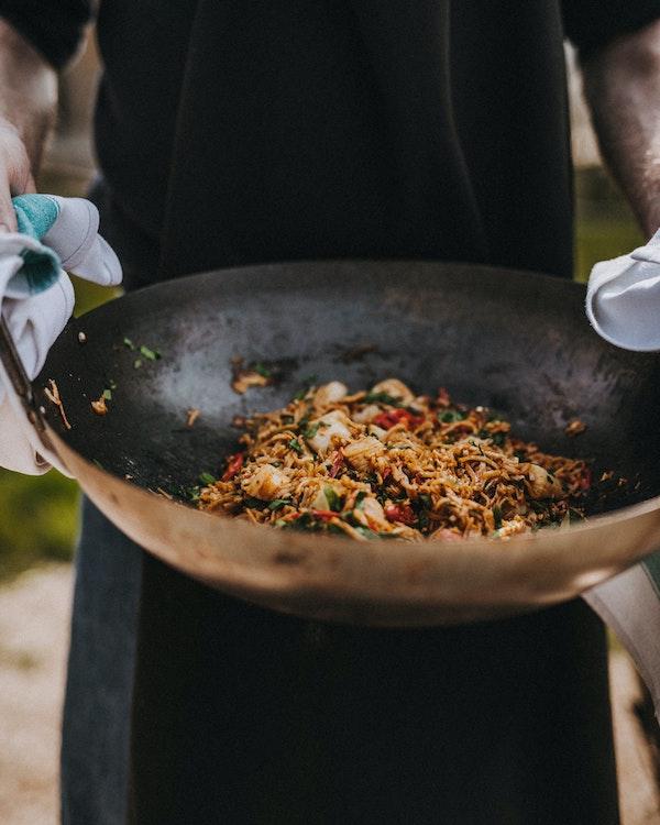 Scallop Pad Thai | Seafood Recipe | Big Green Egg