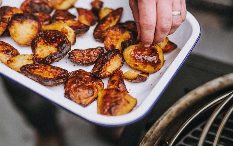 Roasted Potatoes | Sunday Roast | Big Green Egg