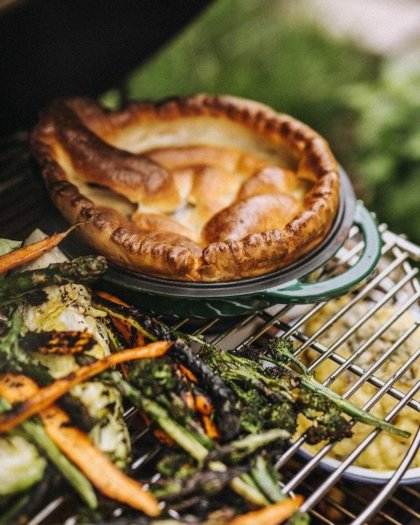 Yorkshire Pudding | Sunday Roast | Big Green Egg