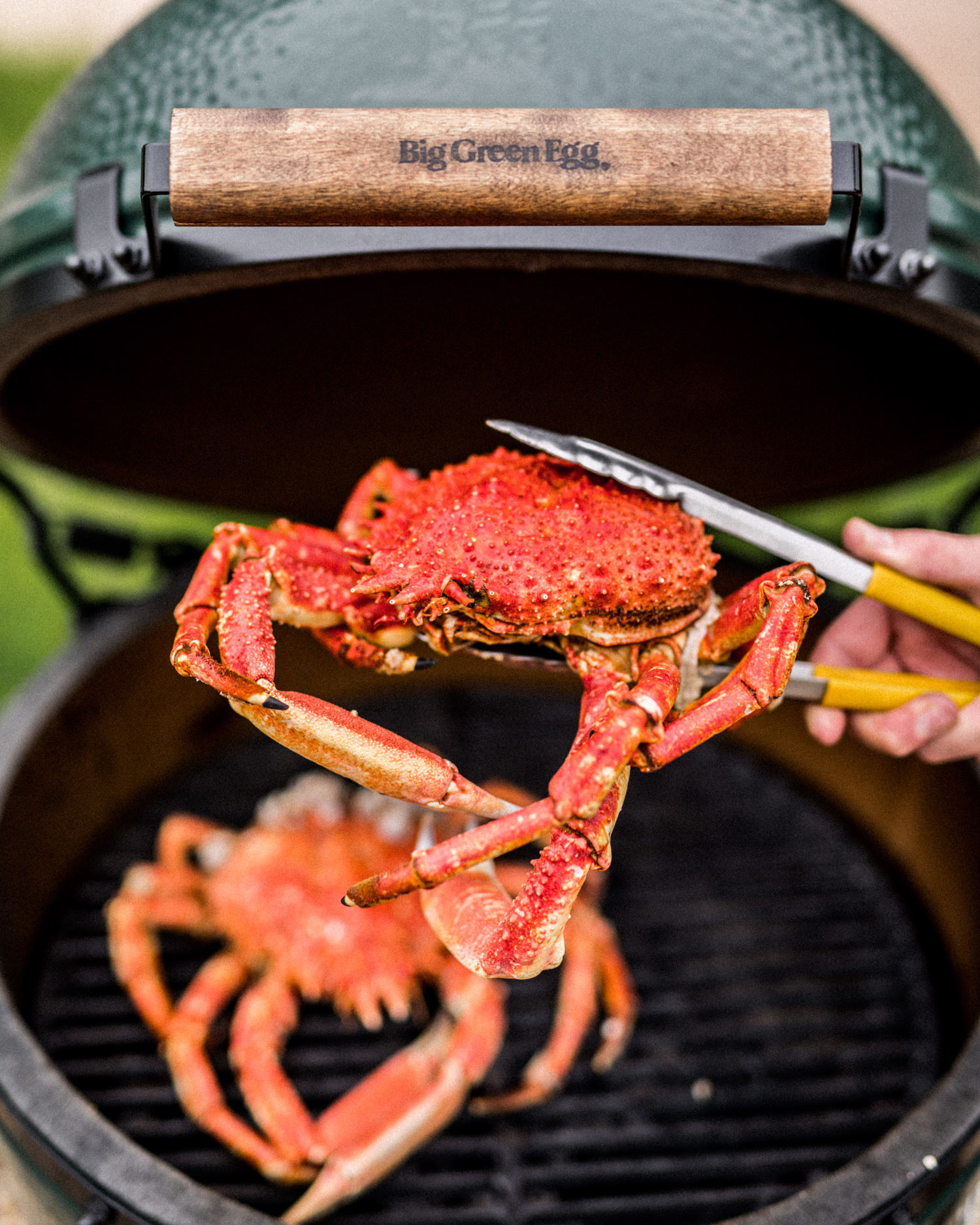 cooking the crab