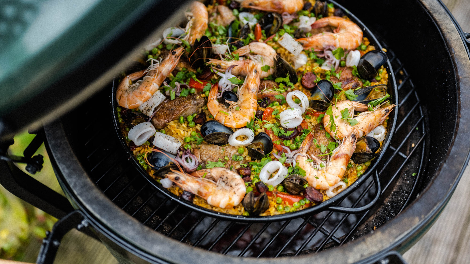 cooking paella direct