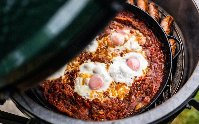 Paella Pan | Shakshuka | Big Green Egg