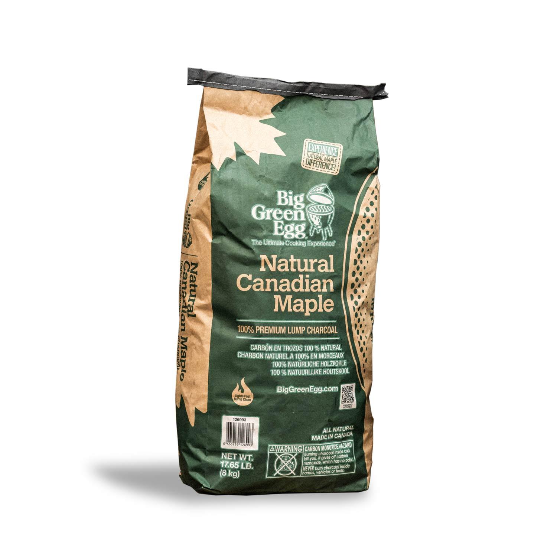 Natural Canadian Maple Charcoal | 100% Premium Lumpwood | Big Green Egg