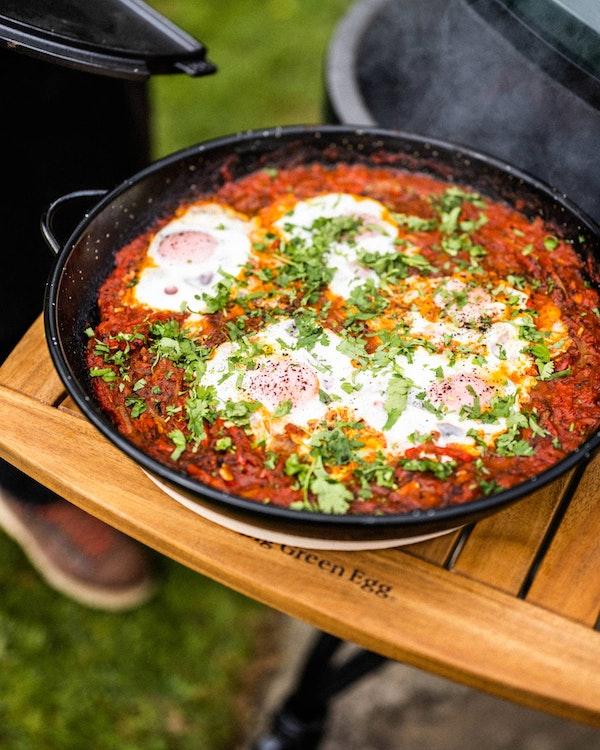 Shakshuka | Brunch | Ceramic Charcoal BBQs | Big Green Egg
