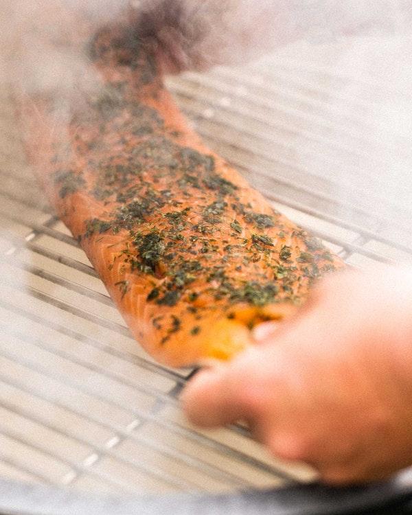 Smoking salmon | Smoking Kit | Big Green Egg