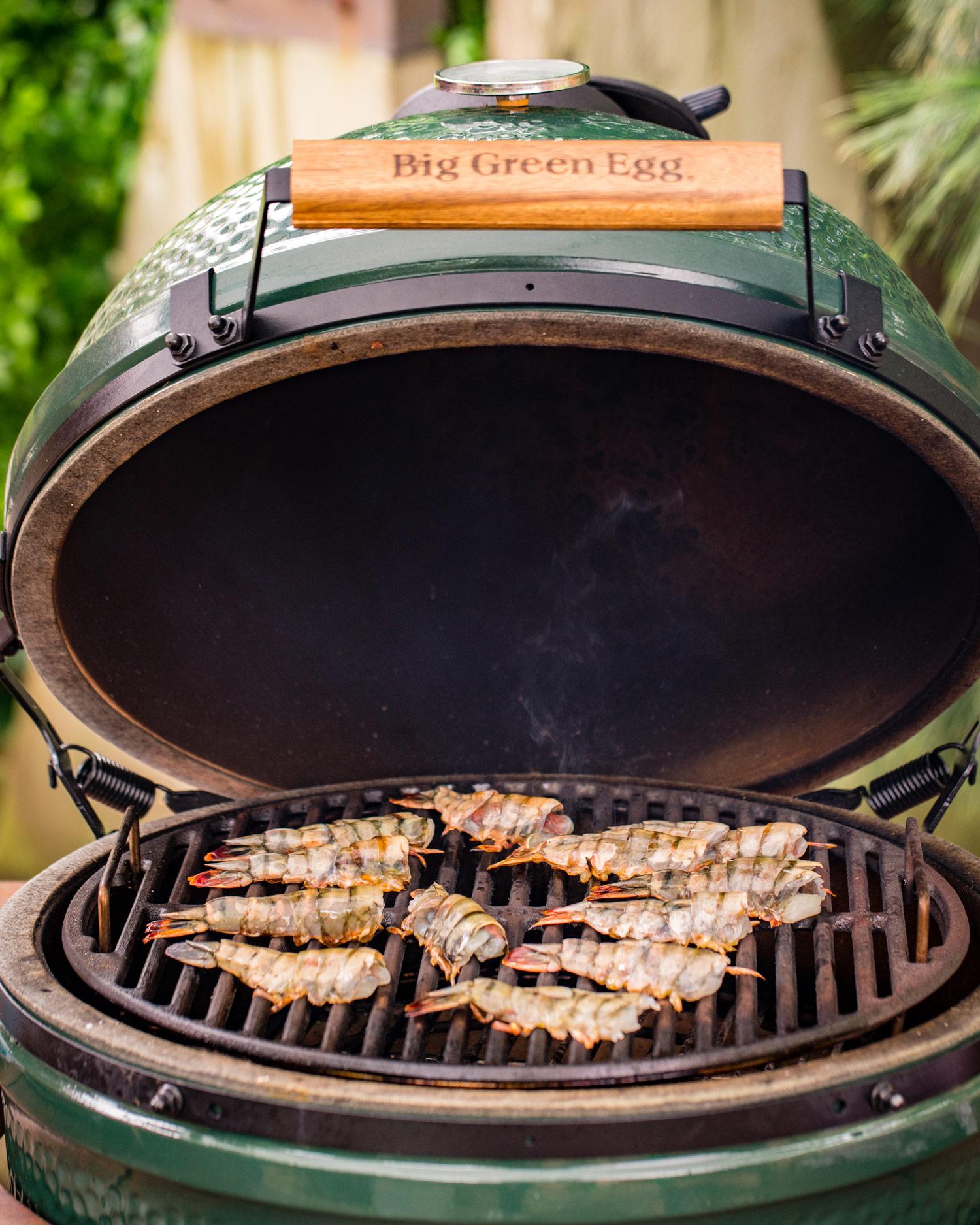grill the prawns